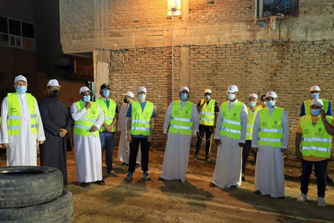 مشاركة مكيون في مبادرة مجتمعية تحت اسم عمار السعودية بالتعاون مع وزارة الاسكان – برنامج الاسكان التنموي